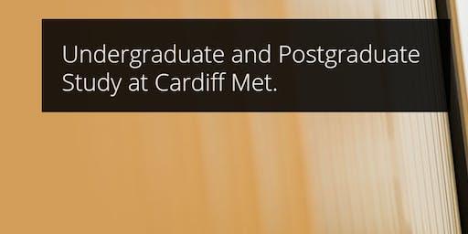Meet Cardiff Met University (UK) representative at Global Reach Office