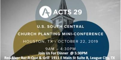 Acts 29 Mini Conference Dinner
