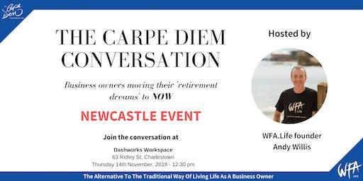 The Carpe Diem Conversation - Dashworks Workspace, Newcastle