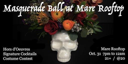 Halloween Masquerade Ball at Mare Rooftop