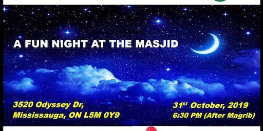 A Fun Night at the Masjid on October 31