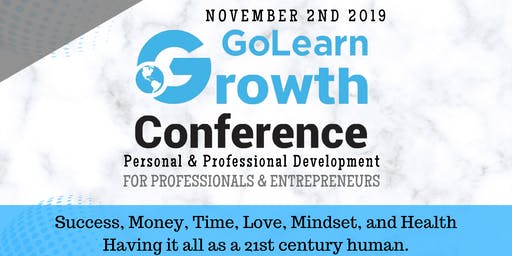 GoLearn Growth Conference | Personal & Business Development