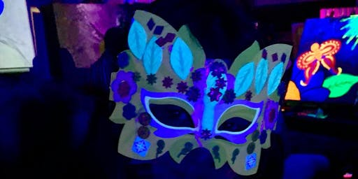 Halloween Glow Paint Event!
