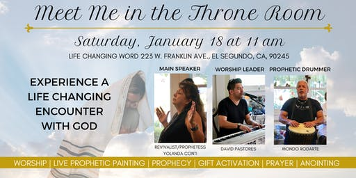 Meet Me in the Throne Room Women's Conference