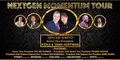 Next Gen Momentum Tour QLD