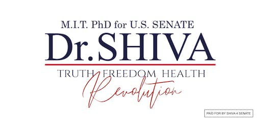 MEET DR. SHIVA | Gathering for Volunteers | locations/ dates see Event Description