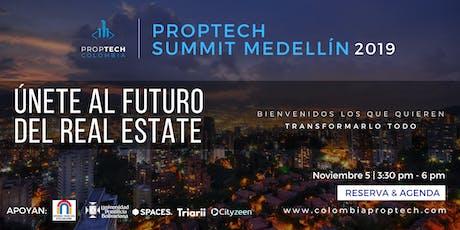 Colombia PropTech Summit Medellín 2019 entradas