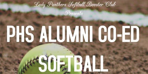 PHS Alumni Co-Ed Softball Tournament