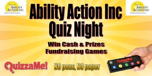 Ability Action Inc Quiz Night
