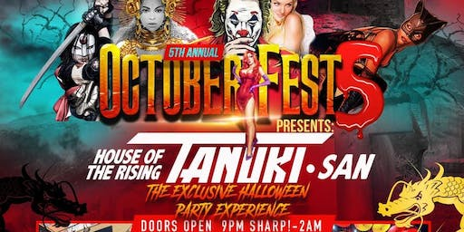 ATX Halloween 2019: Octoberfest 5 @ House of The Rising Tanuki -10/26/19