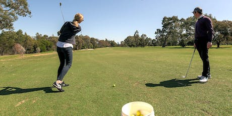 Free ladies learn to golf clinic: full swing tickets
