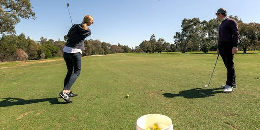 Free ladies learn to golf clinic: full swing