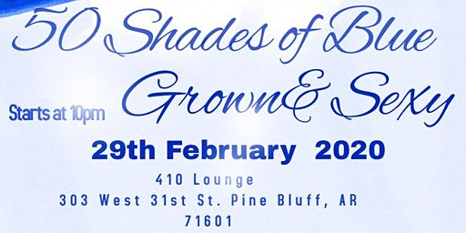 50 Shades of Blue Grown&Sexy