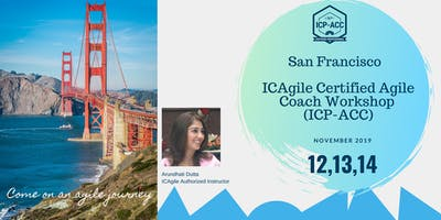 ICP-ACC Agile Coach Certification Workshop San Francisco