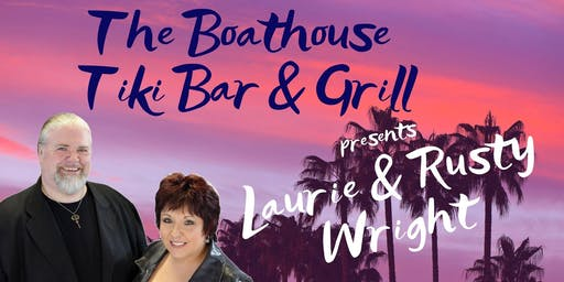 Laurie & Rusty Wright at The Boathouse Tiki Bar & Grill - Fort Myers