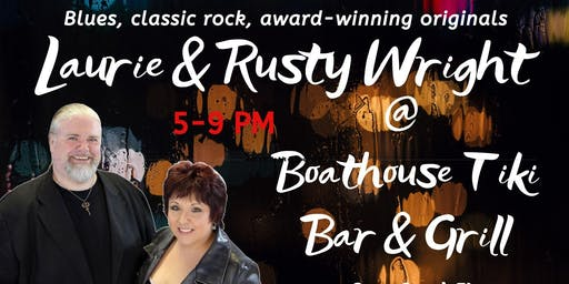 Friday fun with Laurie & Rusty Wright