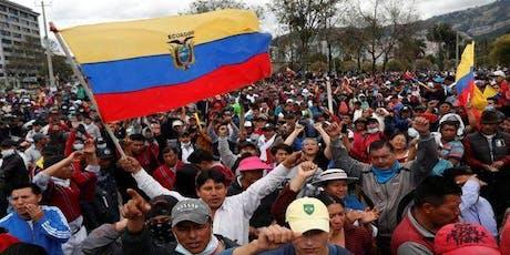 Protestas Sociales en Ecuador entradas
