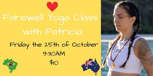 Farewell Yoga With Patricia