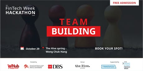 Team Building | FinTech Week Hackathon 2019 tickets