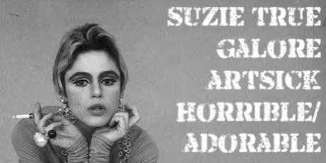 KALX Presents: Suzie True • Galore • Artsick • Horrible/Adorable