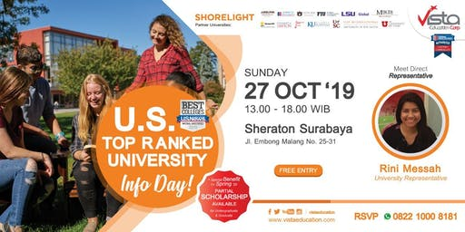 US TOP Rank University Info Day-Surabaya