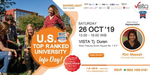 US TOP Rank University Info Day-Jakarta