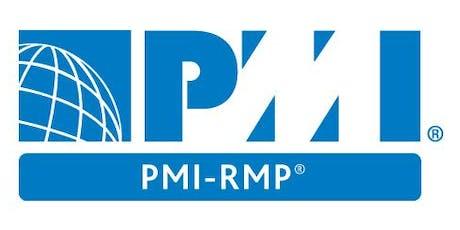PMI-RMP 3 Days Virtual Live Training in Geneva tickets