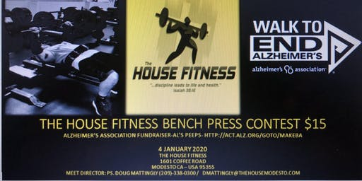 The House Fitness Bench Press Contest