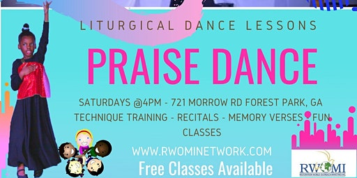 PRAISE DANCE CLASSES - FREE
