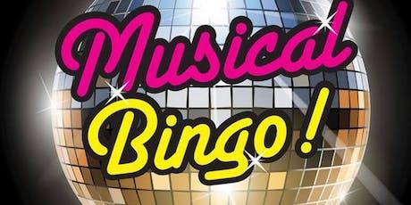 Music Bingo 4 NASCA tickets