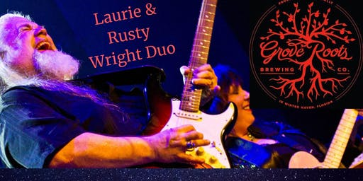 Laurie & Rusty Wright at Grove Roots Brewing Company