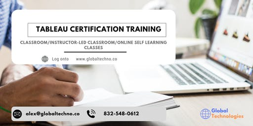 Tableau Certification Training in Decatur, AL