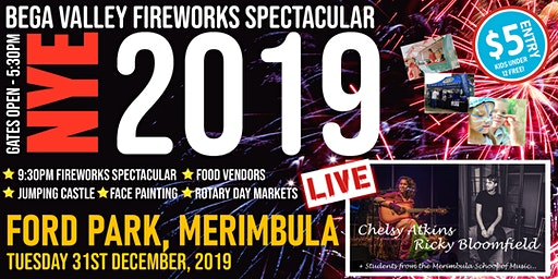Bega Valley New Year's Eve Spectacular