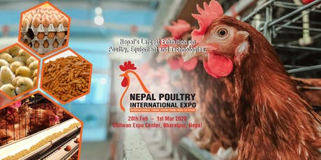 Nepal Poultry International Expo 2020 tickets