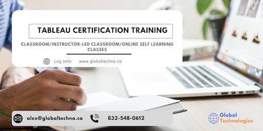 Tableau Certification Training in Jacksonville, NC