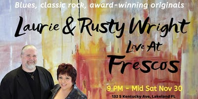 Laurie & Rusty Wright at Frescos