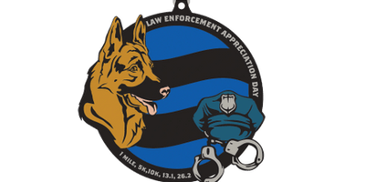 2020 Law Enforcement Appreciation Day 1M, 5K, 10K, 13.1, 26.2 - Rochester