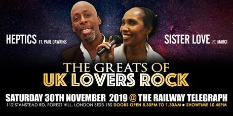 The Greats of UK Lovers Rock  - Stars In Your Eyes PT 4 tickets