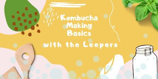 Kombucha Making Basics with the Leepers