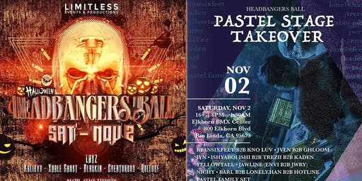Headbangers Ball With Pastel Events