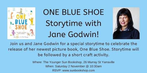 One Blue Shoe Storytime with Jane Godwin