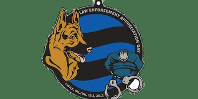 2020 Law Enforcement Appreciation Day 1M, 5K, 10K, 13.1, 26.2 - Milwaukee