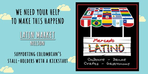 Fundraiser Colombian families at Mercado Latino [Kick-starter support]