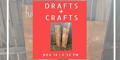 Drafts + Crafts