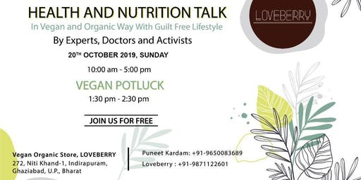 Health and Nutrition Talk