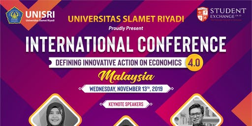 International Conference Defining Innovative Action on Economics 4.0