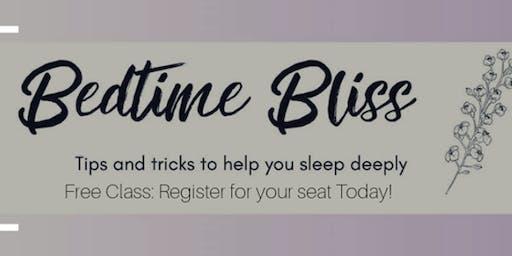 Euroa Bedtime Bliss Sleep Class