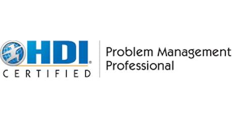Problem Management Professional 2 Days Virtual Live Training in Geneva tickets