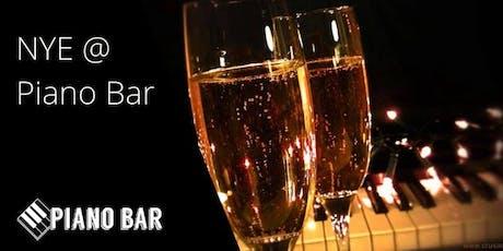 NYE @ Piano Bar Geelong tickets