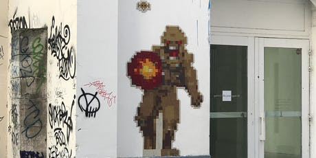 CHASSE AUX SPACE INVADERS | Parcours 1000 points (Street art) billets